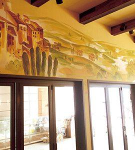 [Public Art] 부엔구스또 레스토랑 벽화